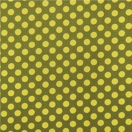 2,25mb Tkanina bawełniana Michael Miller ta dot green