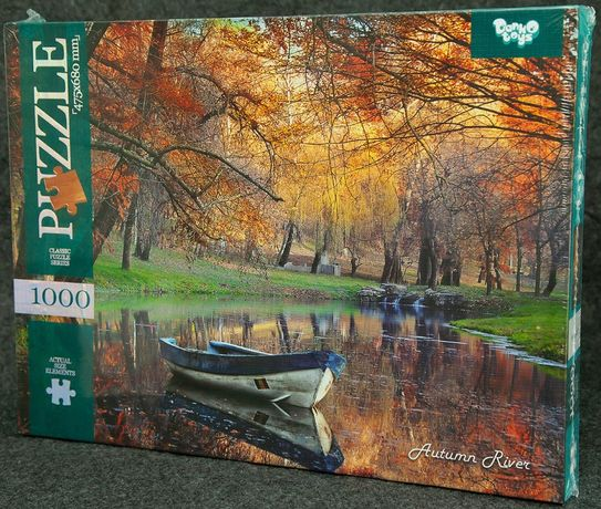 Пазл 1000 Новый Осенняя река