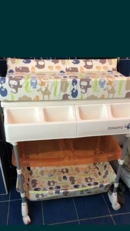 Пеленатор-ванночка