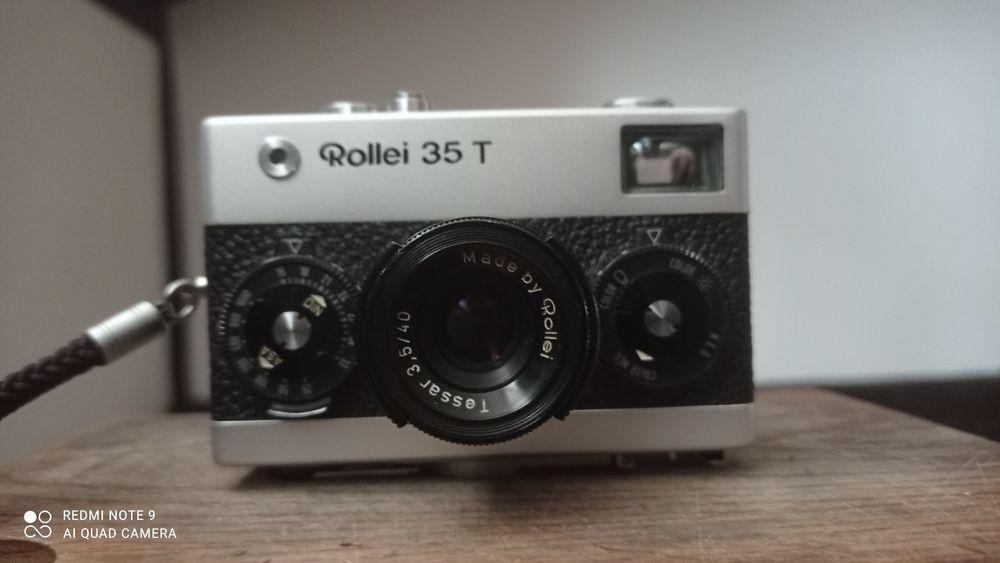 Fotocamera Rollei 35T Silver Tessar 3,5 / 40mm Kraków - image 1