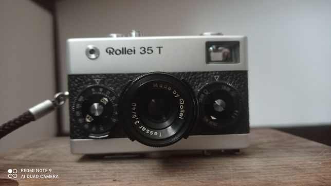 Fotocamera Rollei 35T Silver Tessar 3,5 / 40mm
