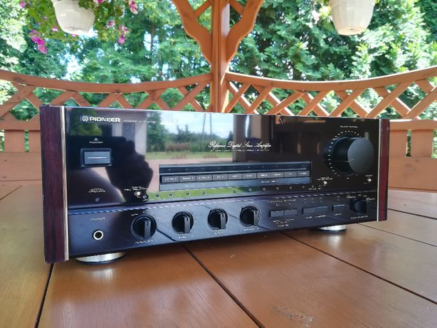 PIONEER A-91D Reference Digital Amplifier Najwyższy model Faktura
