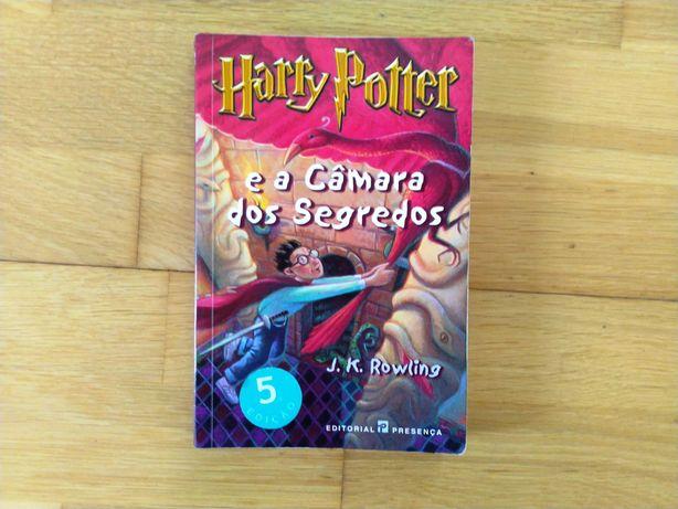 HARRY POTTER e a Câmara dos Segredos, Livro em PT (Raramente Usado)