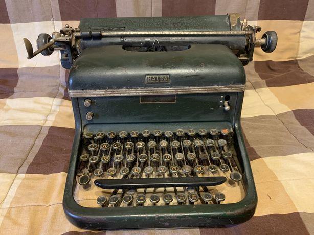 Máquina de escrever Halda