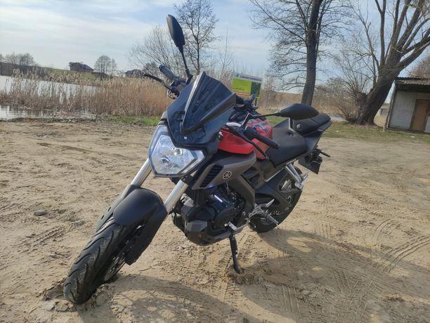 Yamaha MT125 z ABS bez wkładu