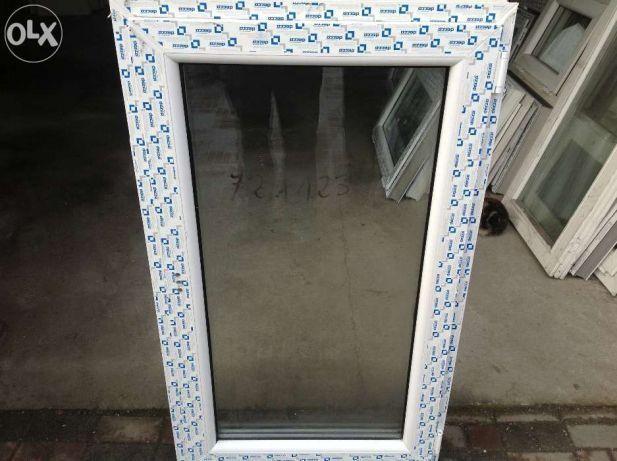 Okno pcv 110 x 70 białe tania wysyłka od ręki. nowe
