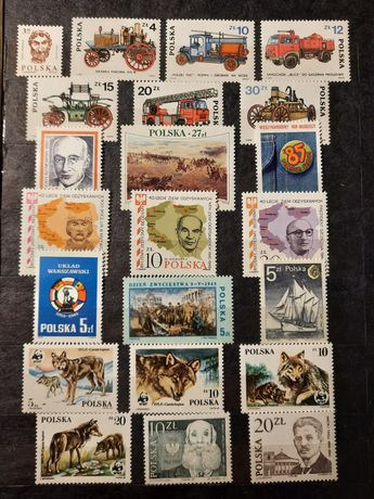 Znaczki pocztowe 85-89r