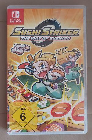 Gra Sushi Striker na nintendo switch