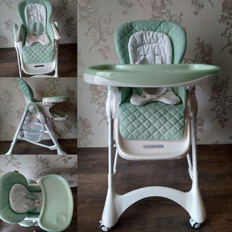 Дитячий стілець для годування Carrello Caramel