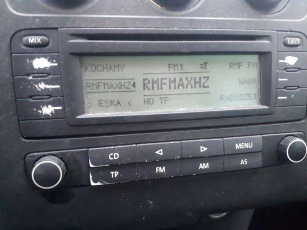 Radio Vw Touran I sprawne oryginalne