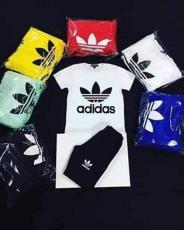 Komplety męskie z logo Adidas Nike kolory M-XXL!!!