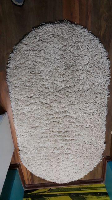 Dywan owalny SHAGGY GALAXY 9000 krem 80x150 cm