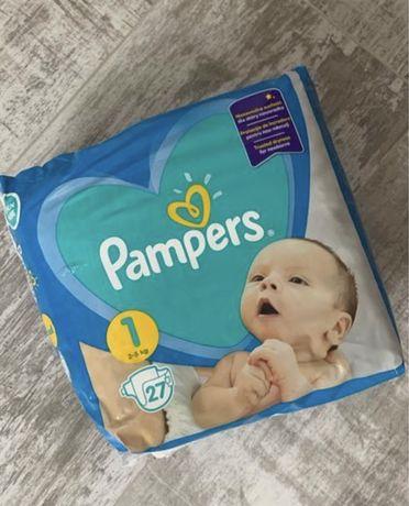 Подгузники pampers active baby 1 (2-5кг)