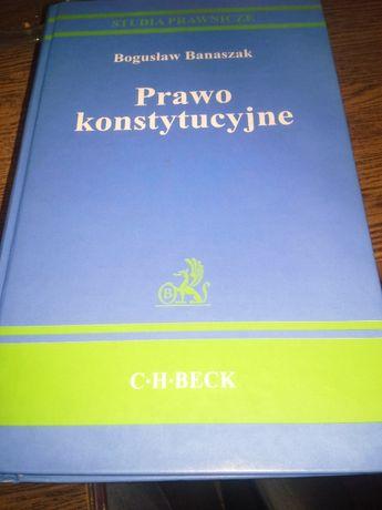Prawo konstytucyjne Bogusław Banaszak