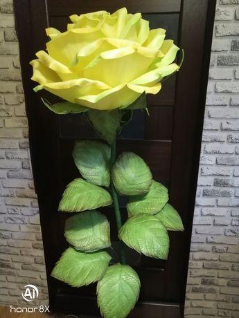 Светильник Роза из Изолона 180 см  (ручная работа)