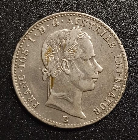 1/4 флорина 1859 року.