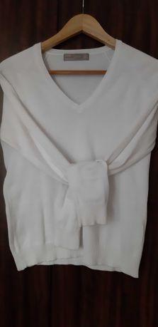 Sweterek biały zara