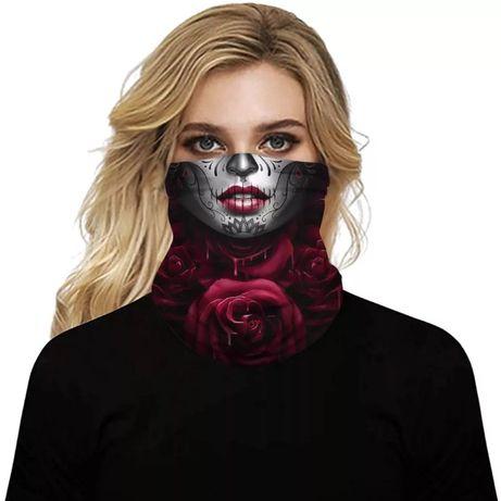 Маска на лицо марля повязка защита шарф накидка