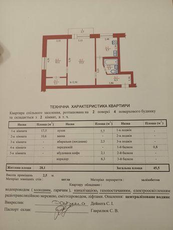 Нерухомість продаж квартири