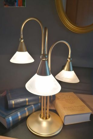 Lampa bibloteczna, biurkowa,lata 80/90 Francja