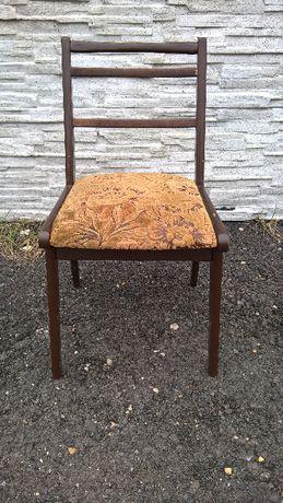 Krzesło z oparciem drewniane