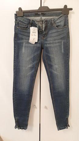 1zł paczkomat- Nowe jeansy sinsay M