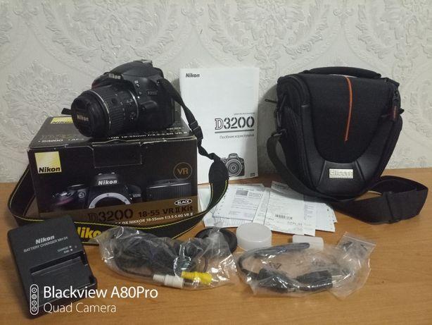 Nikon d3200 полный комплект