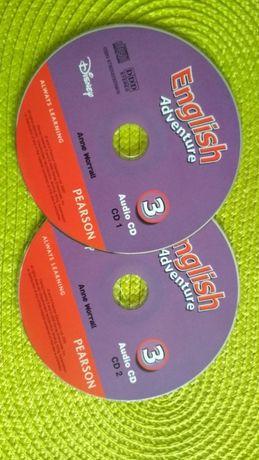 English Adventure płyty CD materiał lekcyjny