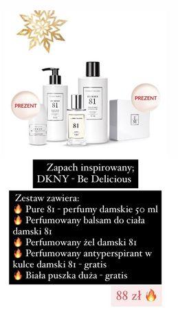 Zestaw inspirowany zapachem DKNY be delicious