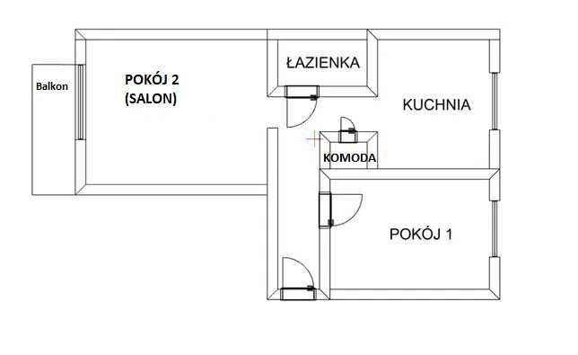 LUBLINIEC mieszkanie na wynajem ul. 11 LISTOPADA 50m2, 2 POKOJE