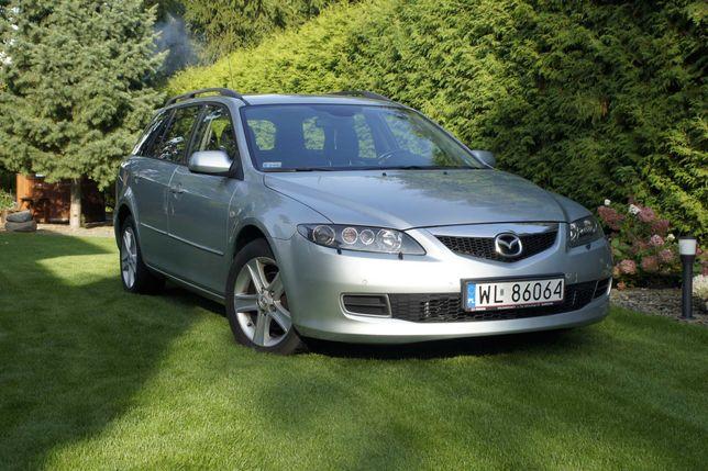 Mazda 6 GG/GY 2.0 MZR-CD 143KM kombi/wagon BOSE klimatyzacja