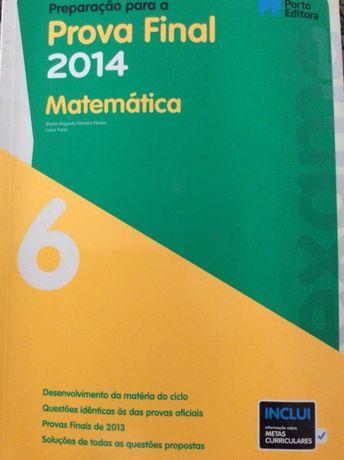 Preparação para a prova final Matemática 6