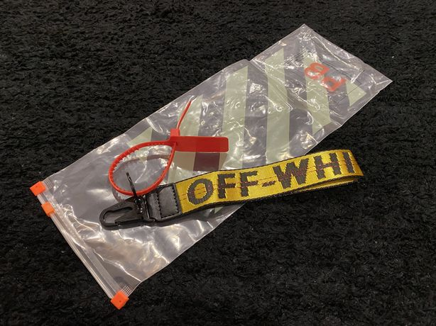 """Porta-chaves Off-White™ """"Classic Industrial"""" - NOVO"""