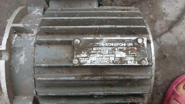 Двигатель трехфазный асинхронный