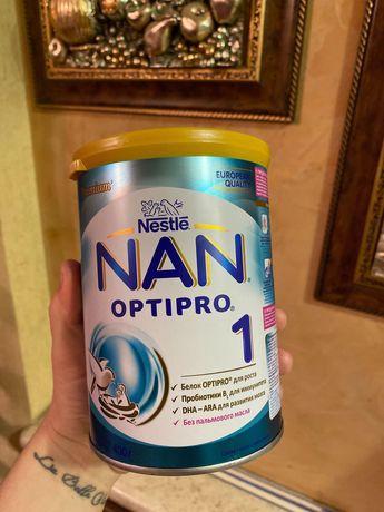 Продам смесь НАН 1 молочную ОПТИПРО  новую 400 г