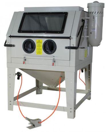 Tanque máquina decapagem peças c/1200 lts c/luz interior e aspirador