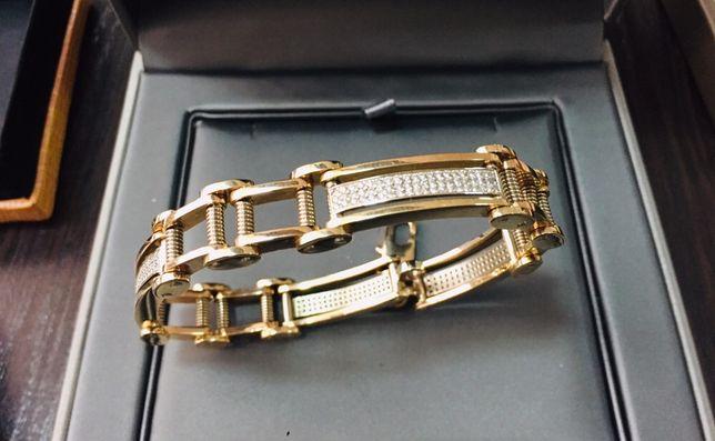 Золотой браслет BARAKA ( Барака) с Бриллиантами 2.5 карат!