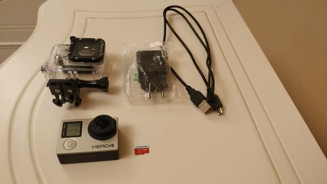 GoPro HERO4 Silver Standard Edition + 32GB