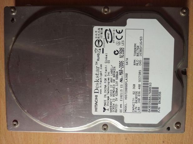 Жёсткий диск Hitachi 80gb