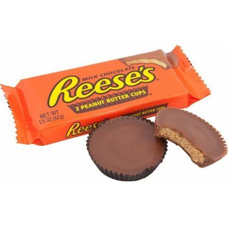 Reese's Milk Chocolate (США) Шоколад с арахисовой пастой Ризис Peanut
