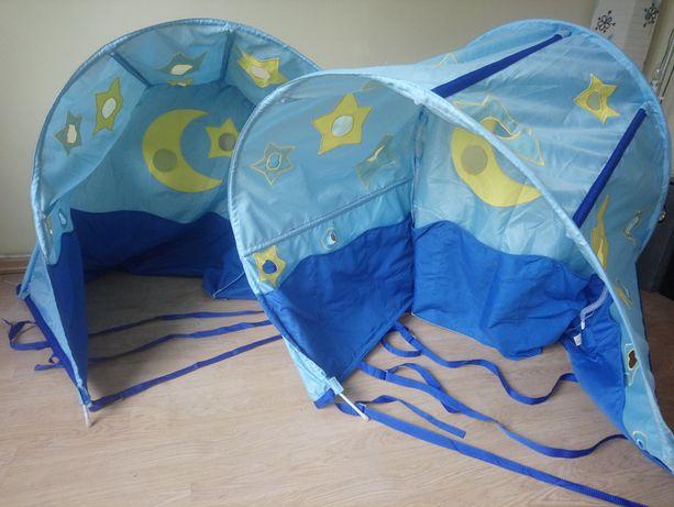 Namiot tunel baldachim na łóżko dwie sztuki