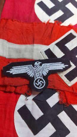 Águia SS braço farda réplica Alemanha nazi-suástica