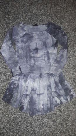 Sukienka marmurkowa dresowa roz 36