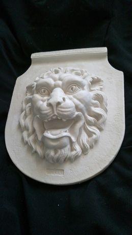 Львиная морда голова гипсовый барельеф