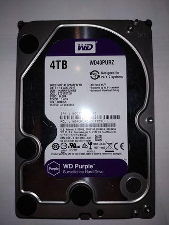 Диск WD Purple 4 TB