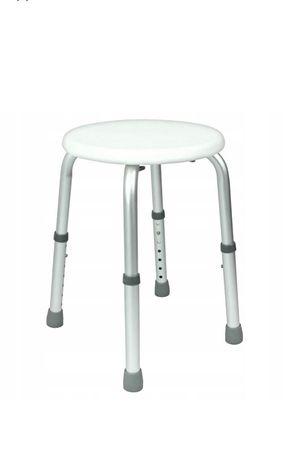 Taboret okrągły prostokątny krzesło pod prysznic stołek