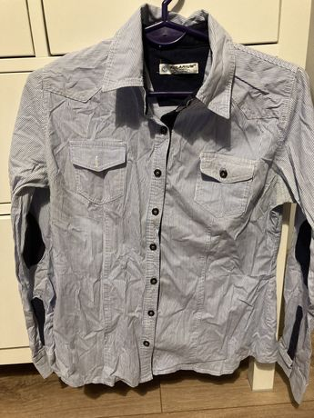 koszula w kratke r M