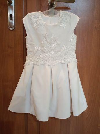 Sukienka biała 122