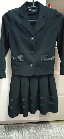 Продам школьный пиджак и сарафан  на девочку