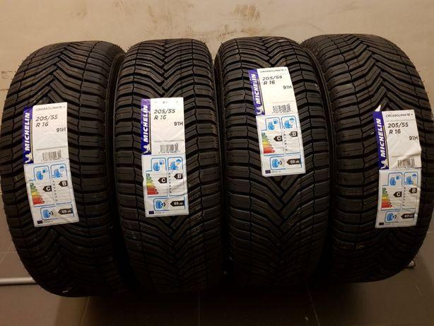 Nowa Opona Całoroczna Michelin 205/55R16 CrossClimate+ Kraków !!